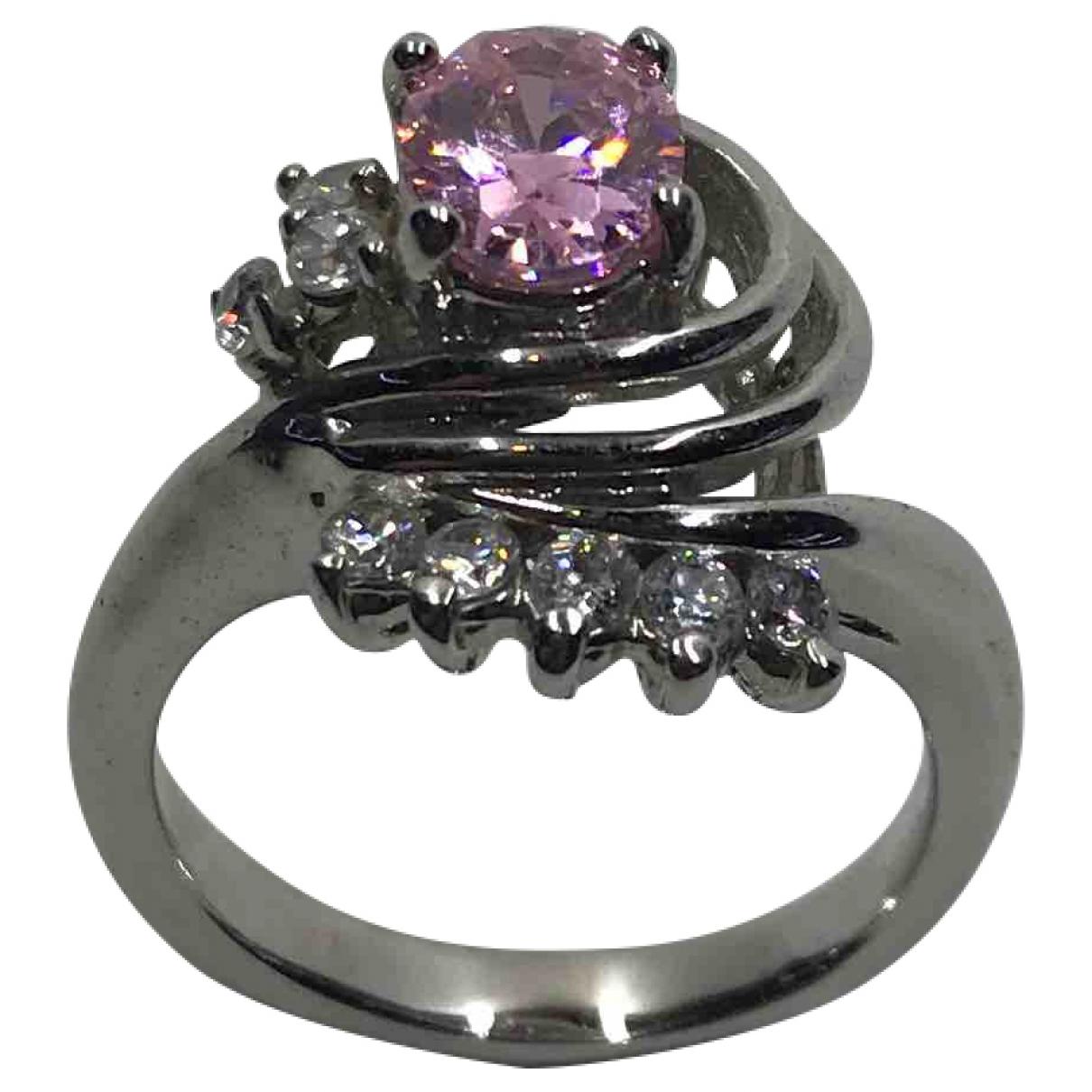 Diamonds & You \N Ring in  Rosa Metall