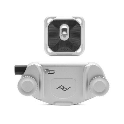 Lunar Year Sale CAPTURE CAMERA CLIP V3 with Standard plate - Silver