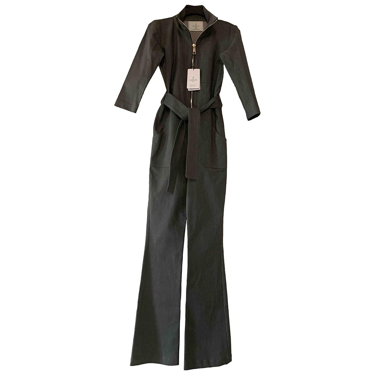 Carolina Ritz \N Jumpsuit in  Grau Baumwolle