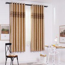 Vorhang mit Streifen Muster