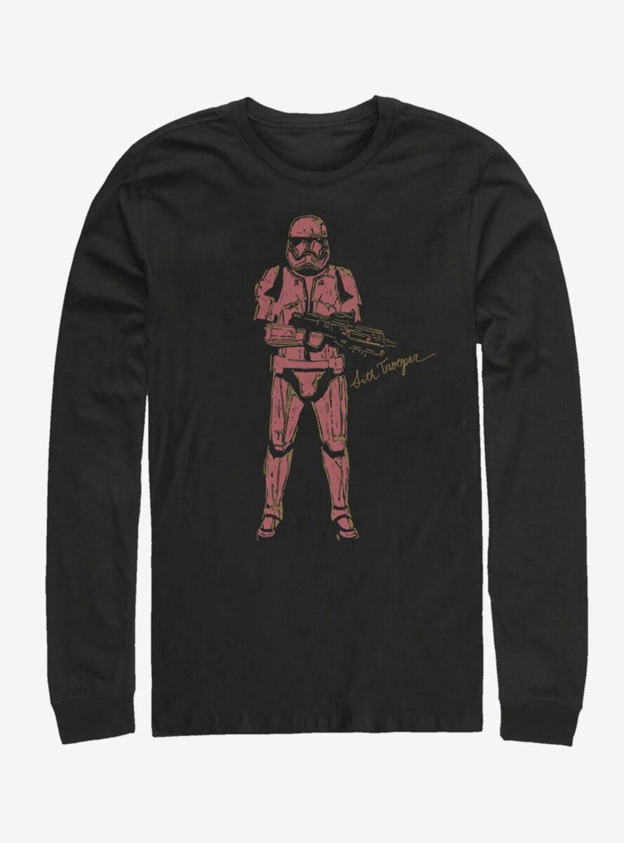 Star Wars Episode IX The Rise Of Skywalker Red Trooper Long-Sleeve T-Shirt