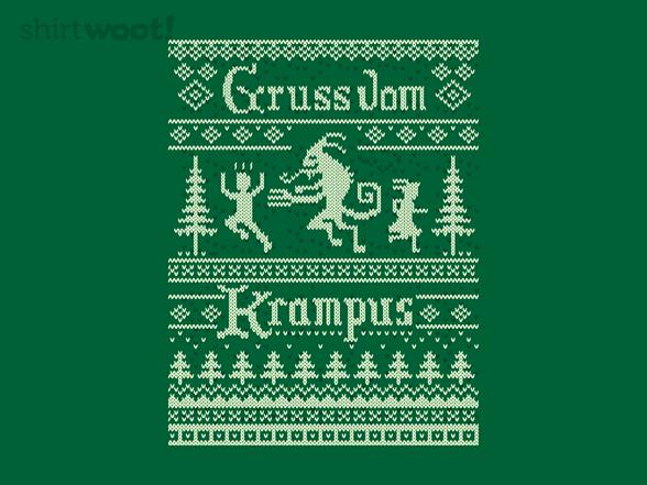 Ugly Krampus Sweater T Shirt