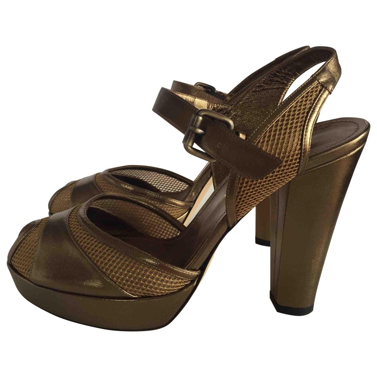 Sonia Rykiel - Sandales   pour femme en cuir