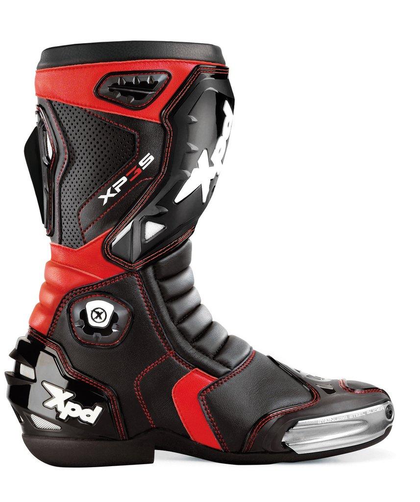 XPD XP3-S Botas Negro Rojo 47
