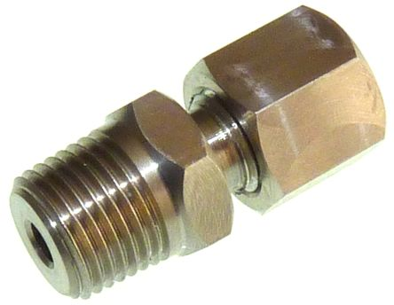 RS PRO Thermocouple Compression Fitting for use with 3 mm Probe Thermocouple, M20