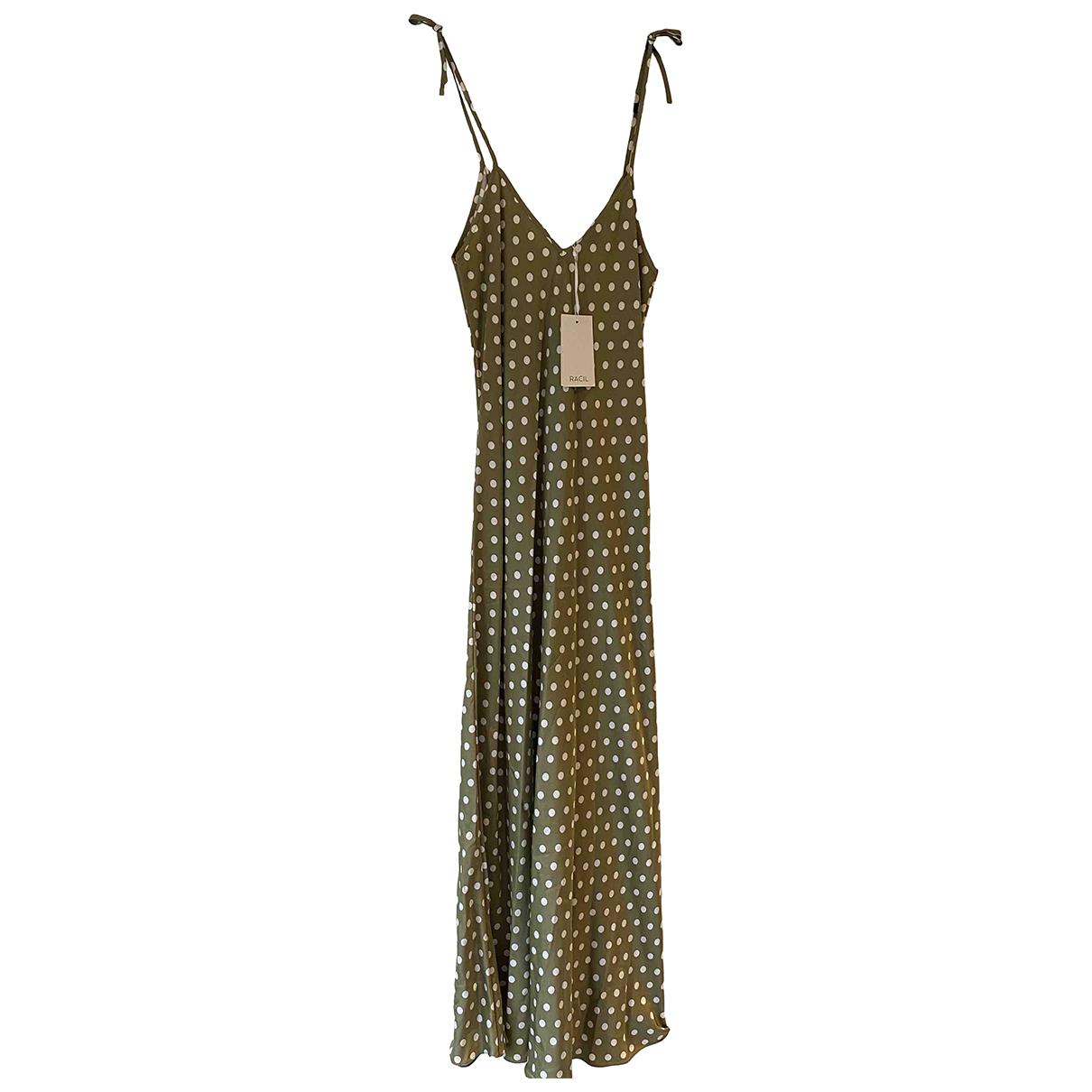 Racil \N Kleid in  Khaki Viskose