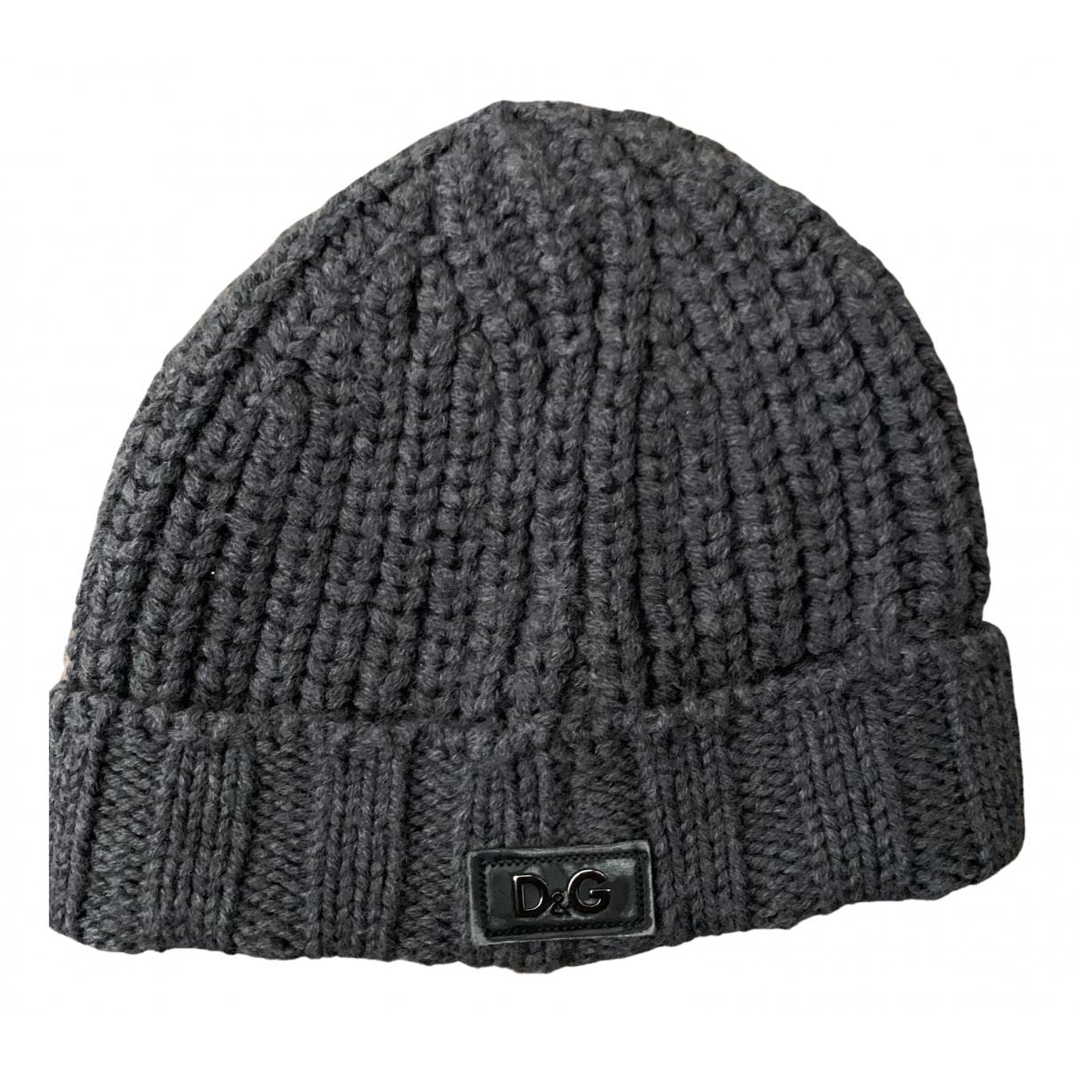D&g N Grey Wool hat & pull on hat for Men L International