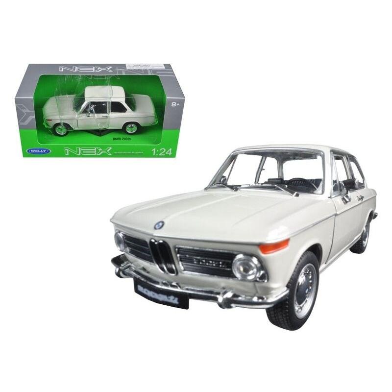 BMW 2002 ti Cream 1/24-1/27 Diecast Model Car by Welly