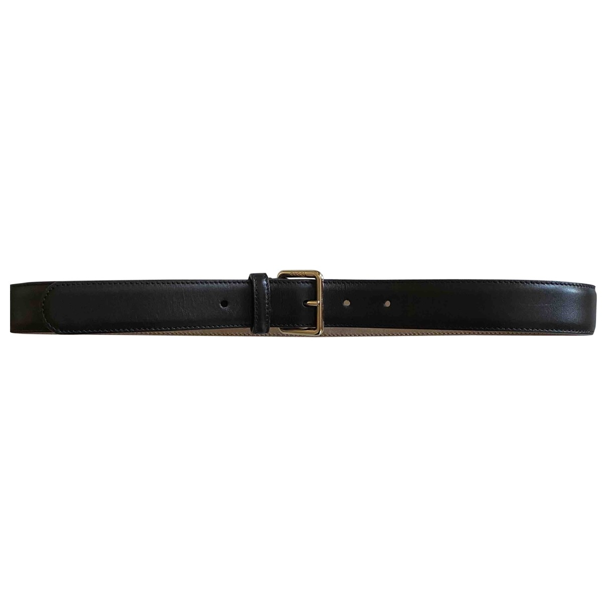 Gucci \N Brown Leather belt for Women 80 cm
