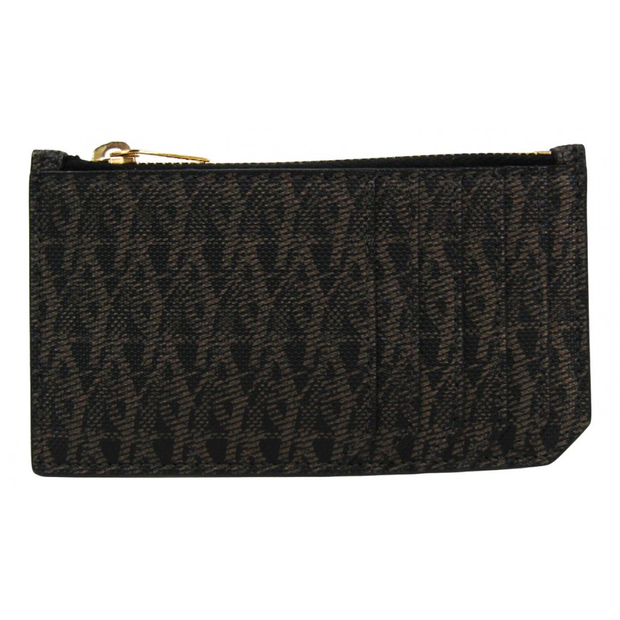 Saint Laurent N Brown Cloth Purses, wallet & cases for Women N