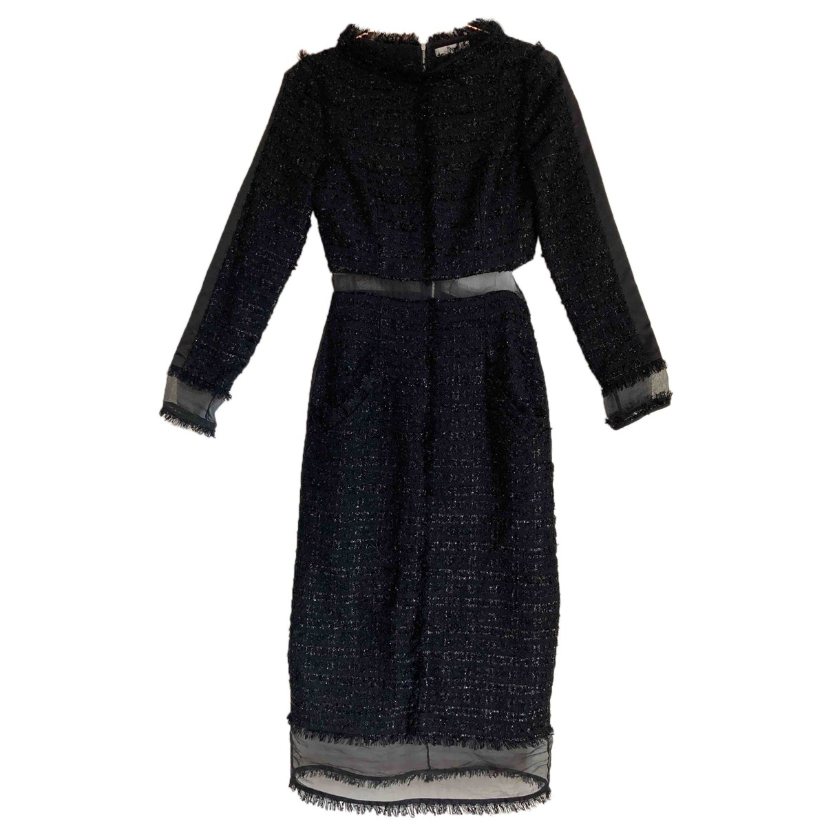 Erdem \N Black Silk dress for Women 6 UK