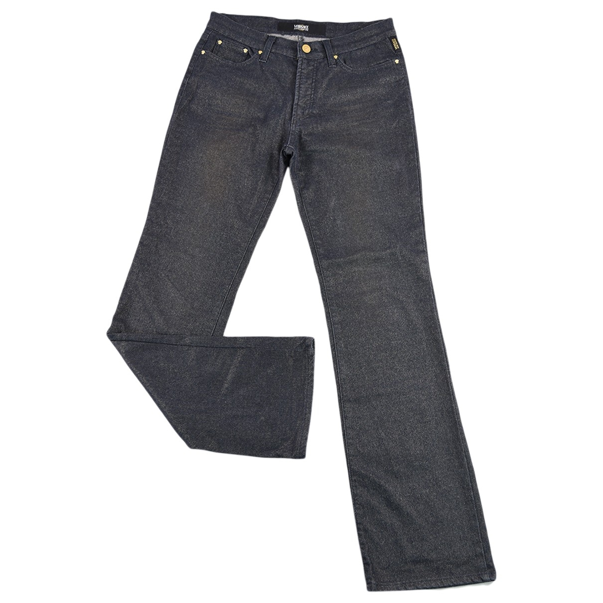 Versace Jeans \N Grey Cotton Jeans for Women 30 US