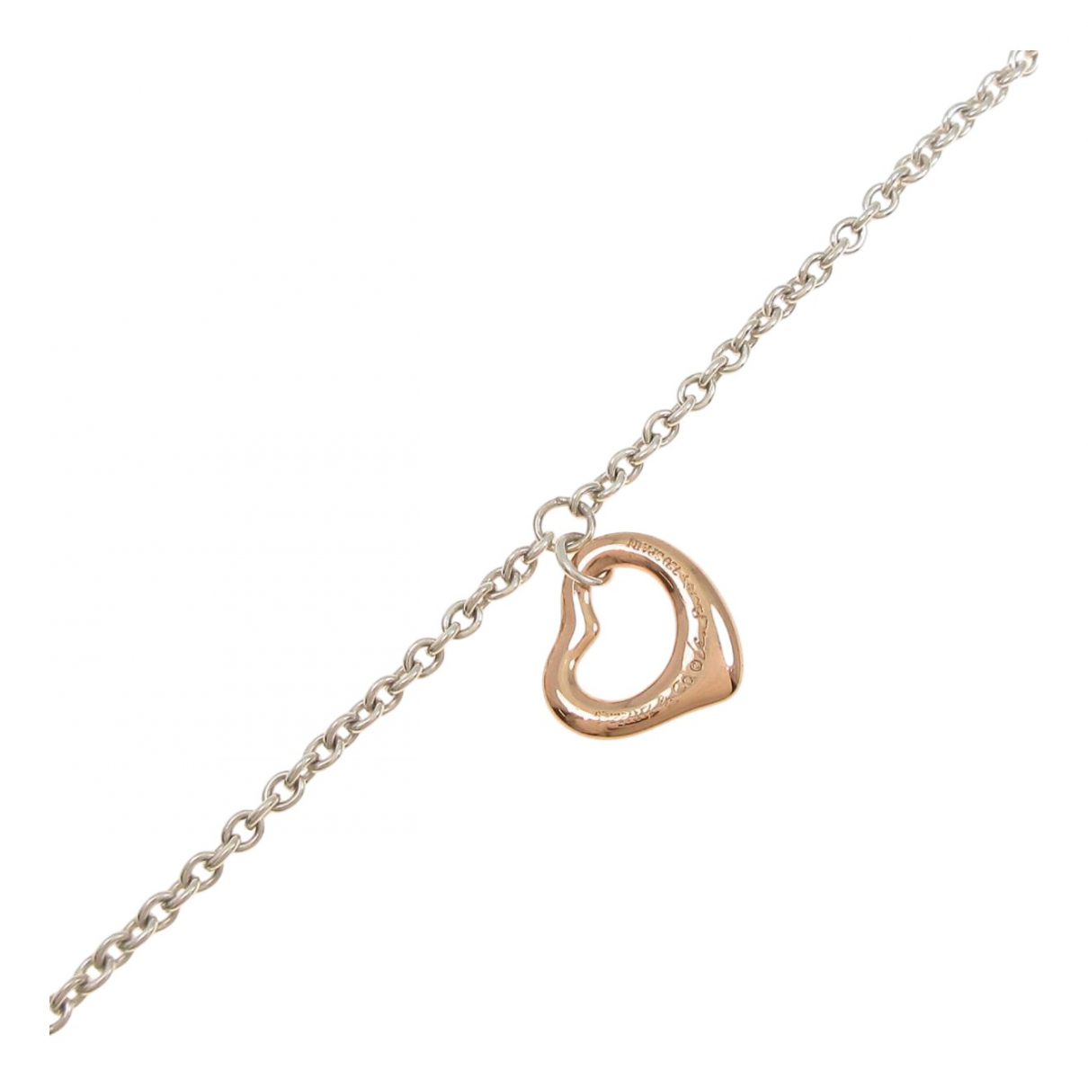 Tiffany & Co \N Armband in  Silber Rosegold