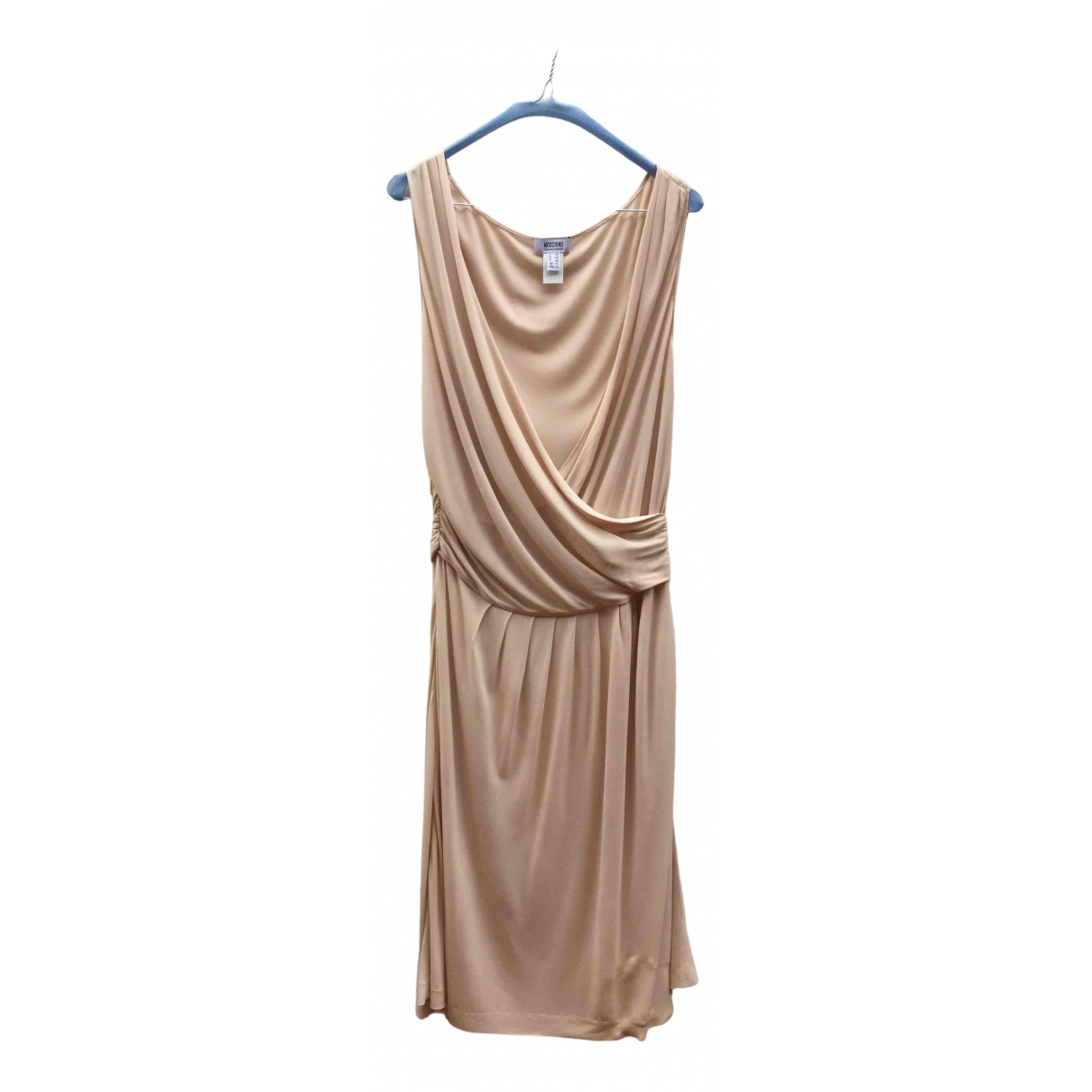 Moschino Cheap And Chic \N Kleid in  Rosa Seide