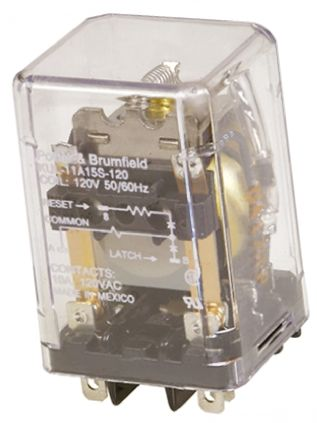 TE Connectivity DPDT Plug In Latching Relay - 10 A, 48V dc For Use In General Purpose Applications
