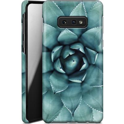 Samsung Galaxy S10e Smartphone Huelle - Beautiful Succulent von caseable Designs