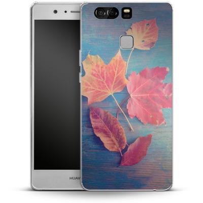 Huawei P9 Silikon Handyhuelle - The Colors Of Autumn von Joy StClaire