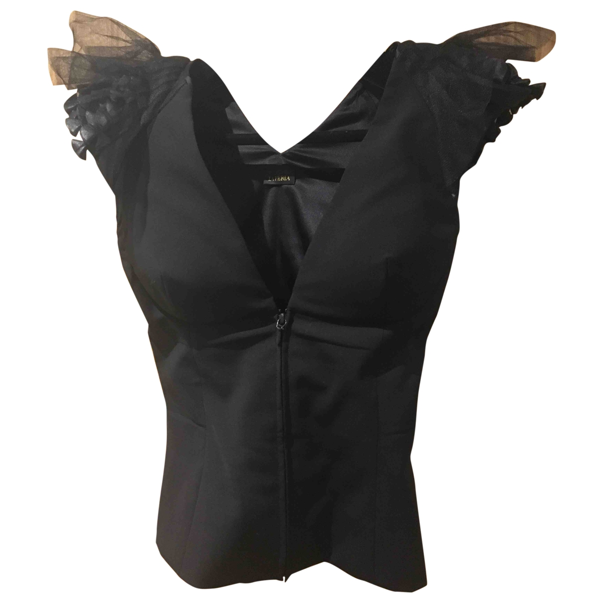 La Perla \N Black Wool  top for Women 36 IT