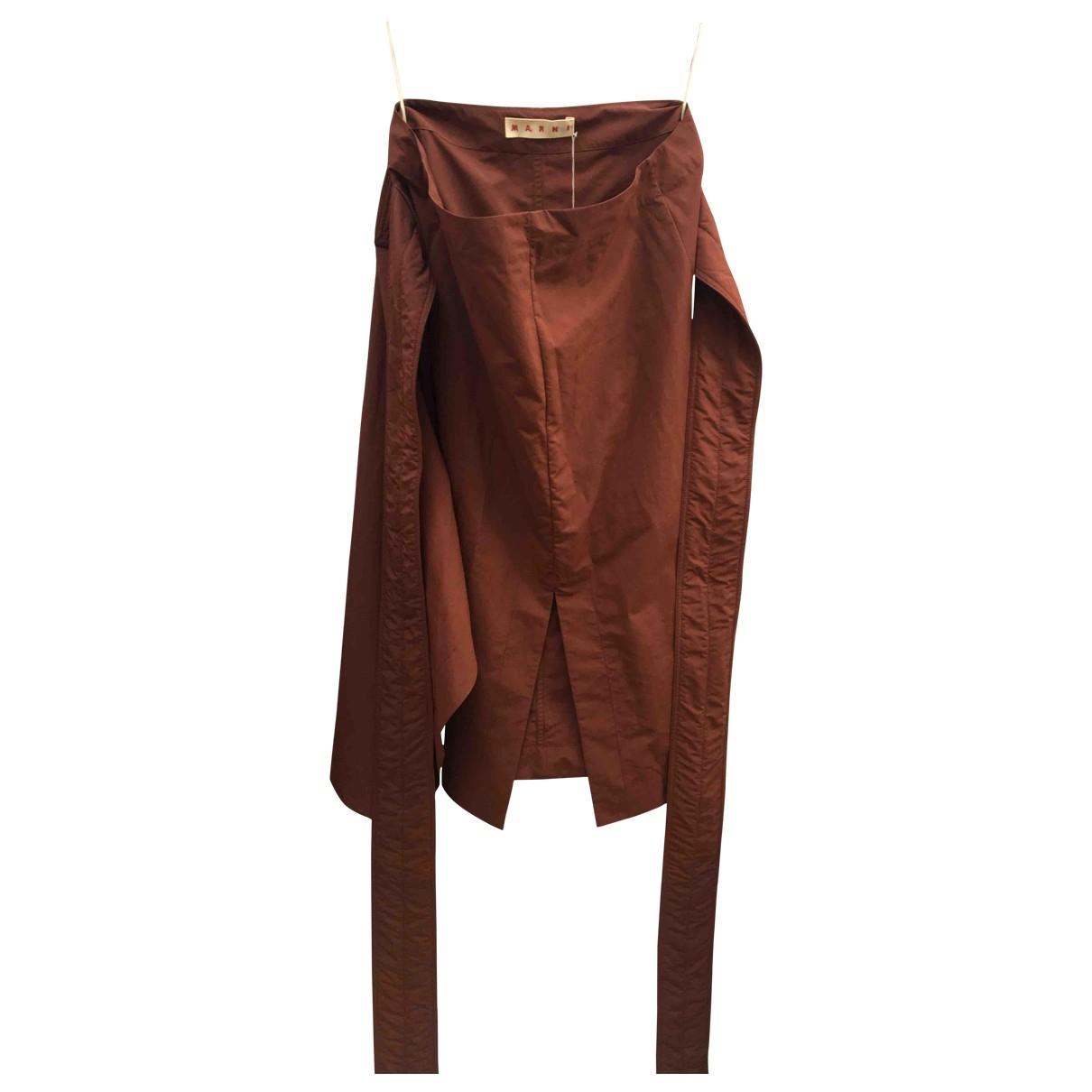 Marni \N Burgundy skirt for Women 38 IT