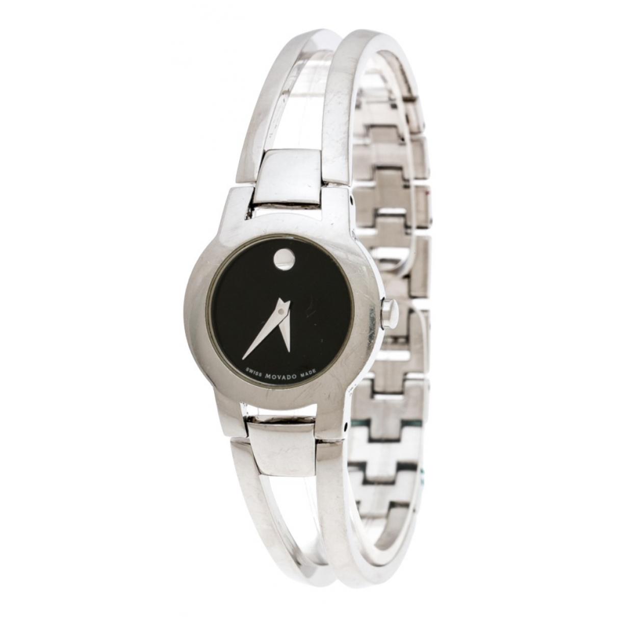Movado \N Silver Steel watch for Women \N