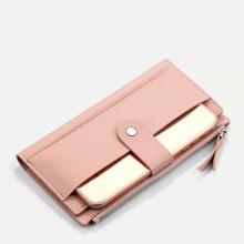 Brieftasche mit Magnetische Taste und Umschlagklappe