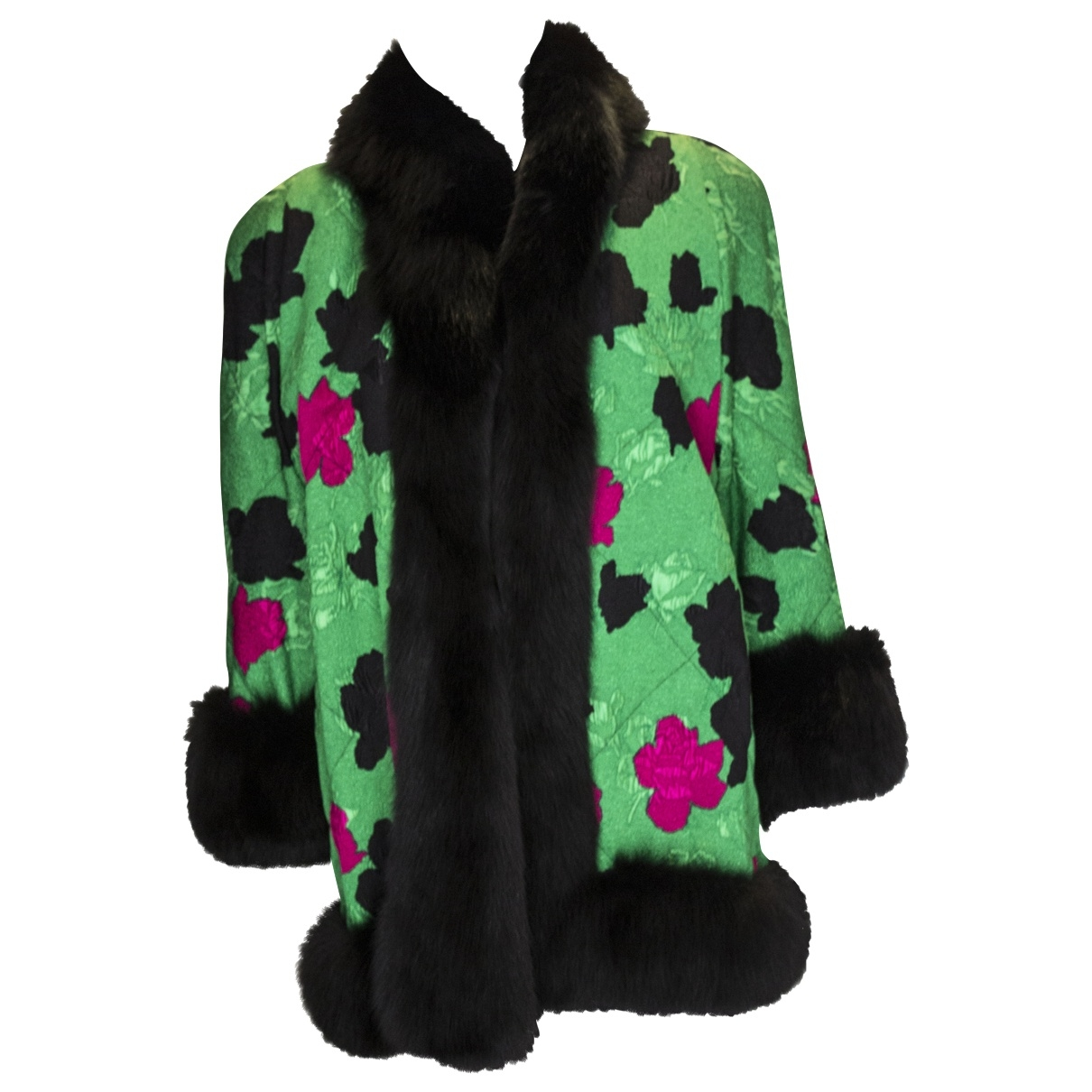 Non Signé / Unsigned \N Multicolour Fox coat for Women S International