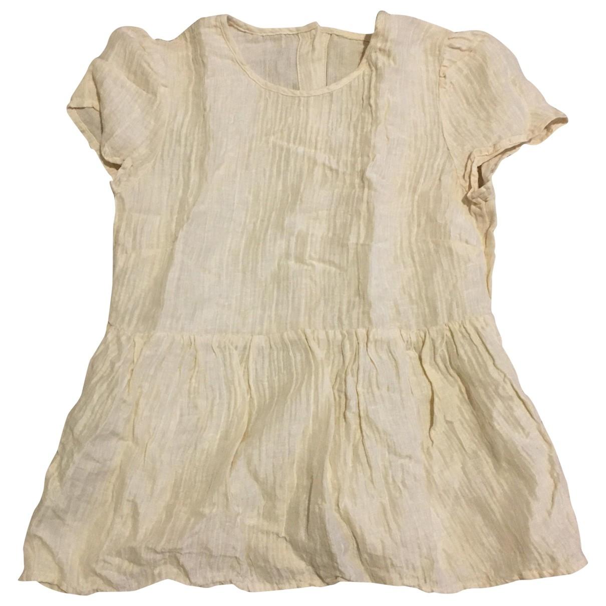 H&m Studio - Top   pour femme en coton - beige