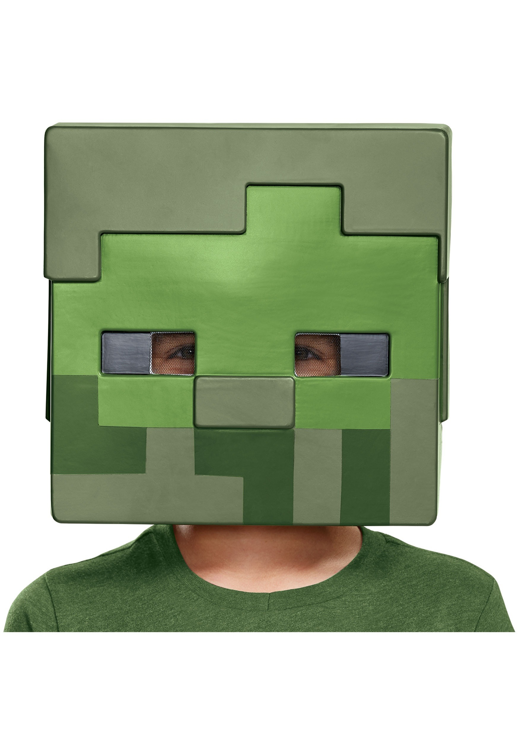 Minecraft Child Zombie Half Mask