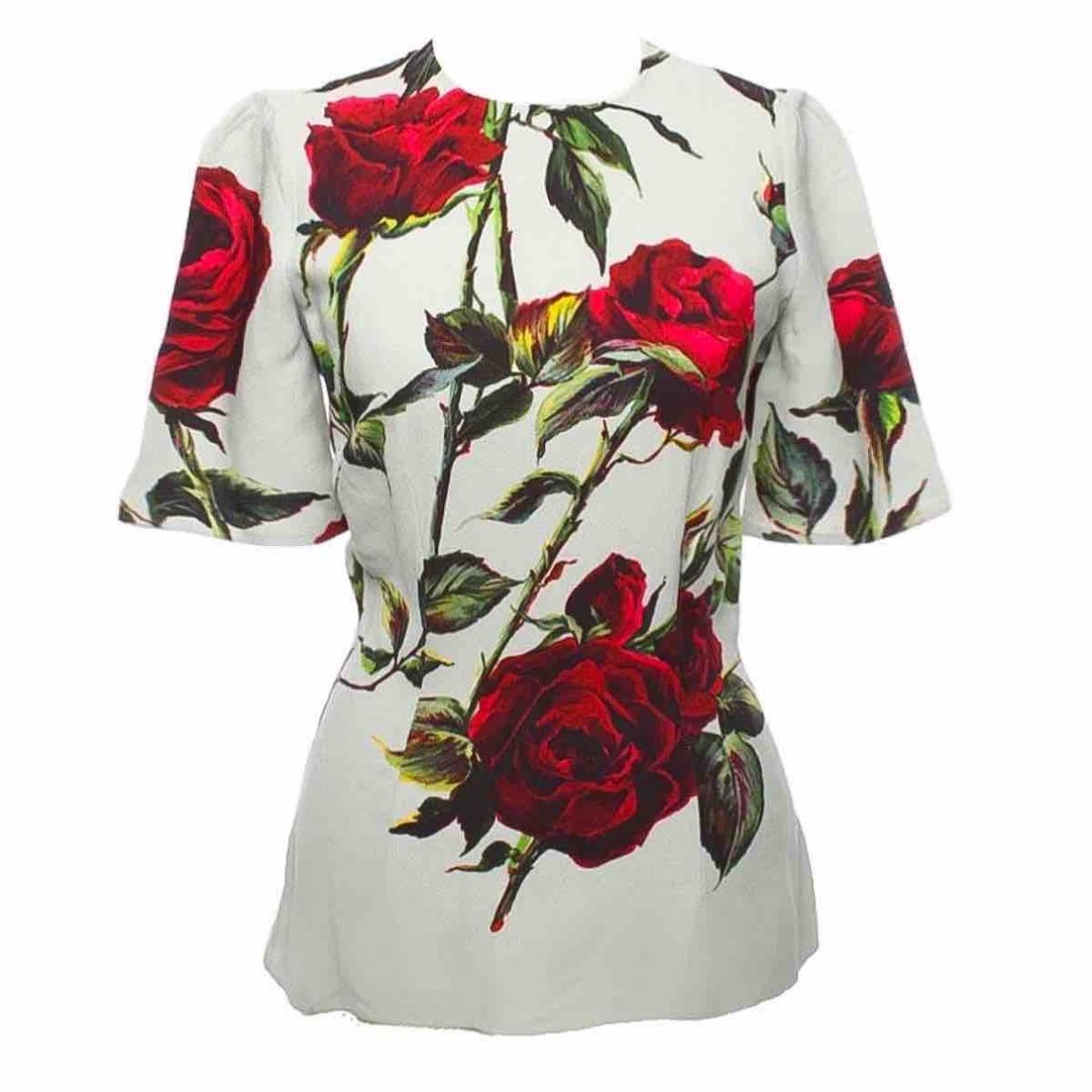 Dolce & Gabbana - Top   pour femme - vert