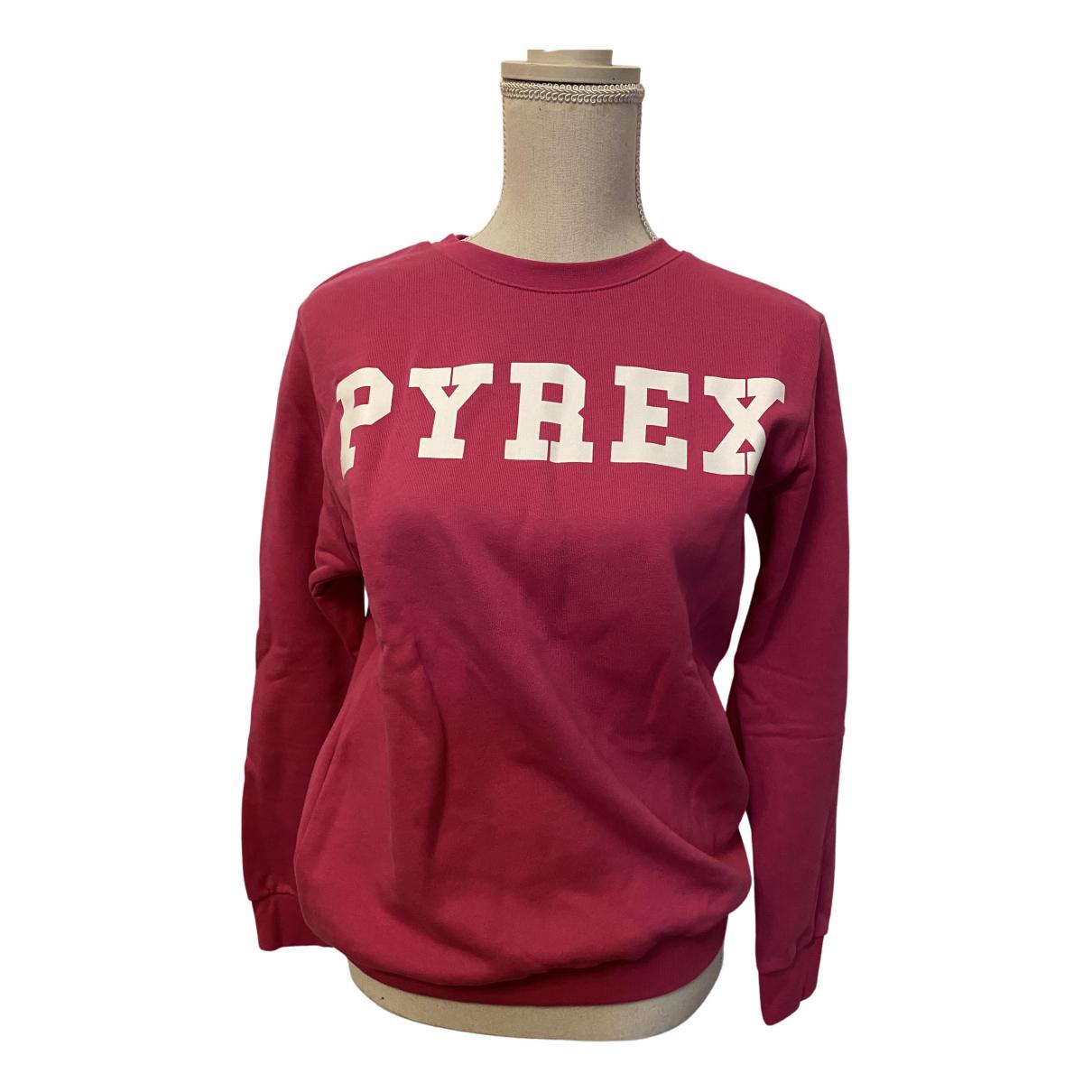 Pyrex - Pull   pour femme en coton - rose