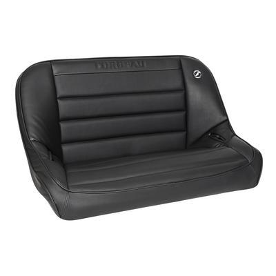 Corbeau Baja 40 Inch Rear Bench Suspension Seat (Black) - 64010