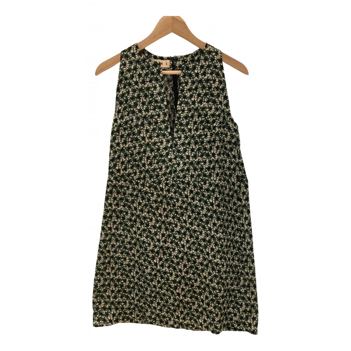 Mini vestido de Seda Marni