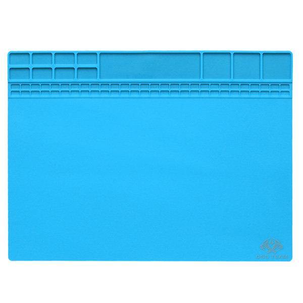 Magnetic Heat Resistant Soldering Mat Silicone Heat Gun BGA Soldering Station Insulation Pad