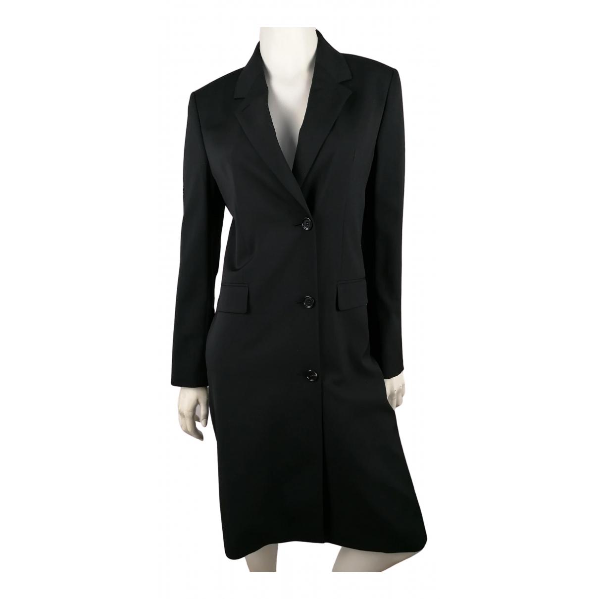 Filippa K N Black Wool coat for Women 36 FR