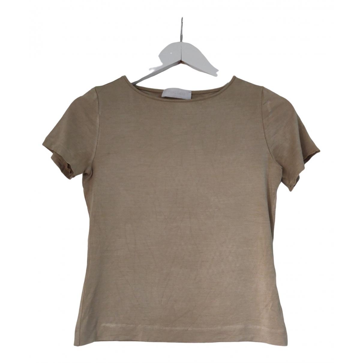 Toni Gard - Top   pour femme en soie - beige
