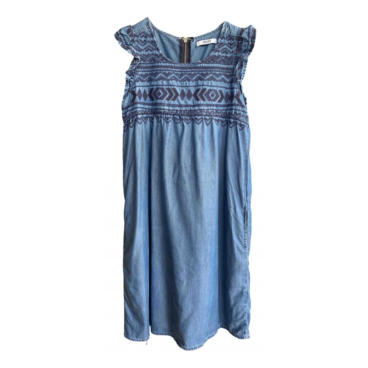 Liu.jo \N Kleid in  Blau Denim - Jeans