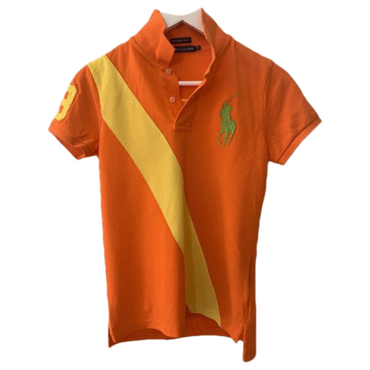 Polo en Algodon Naranja Ralph Lauren
