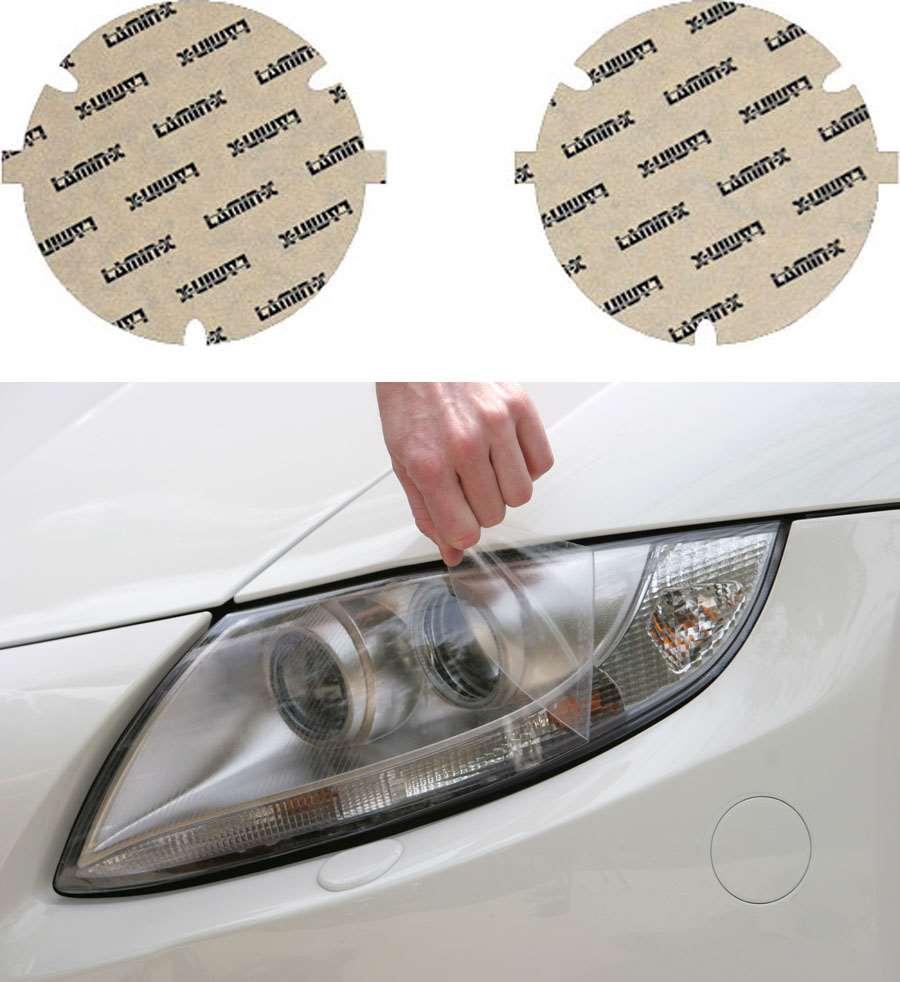 BMW 3-Series 82-91 [US spec] Clear Headlight Covers Lamin-X B006UCL