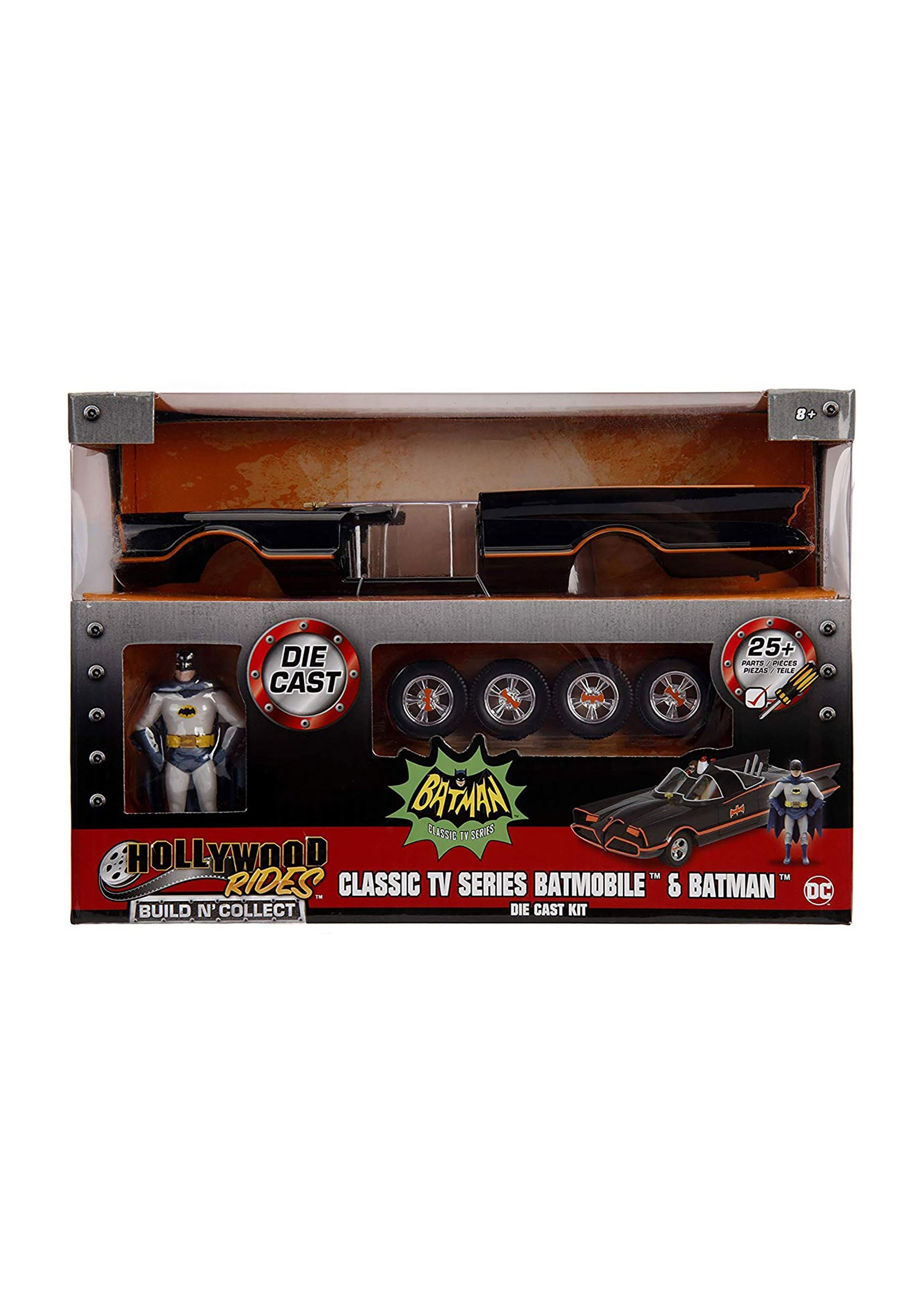 Batmobile from 1966 Classic TV Series Build N' Collect Kit