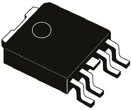 STMicroelectronics LDFPT-TR, LDO Regulator, 1A Adjustable, 0.8 → 12 V, ±1.5% 5-Pin, PPAK (5)
