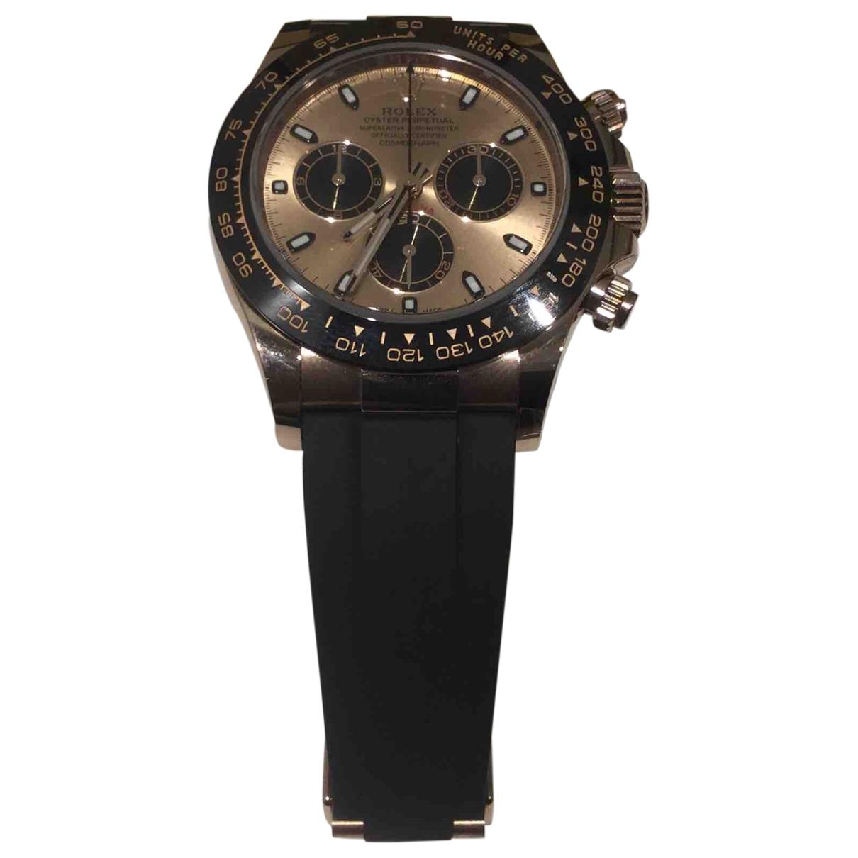 Rolex Daytona Uhr in  Rosa Rosegold