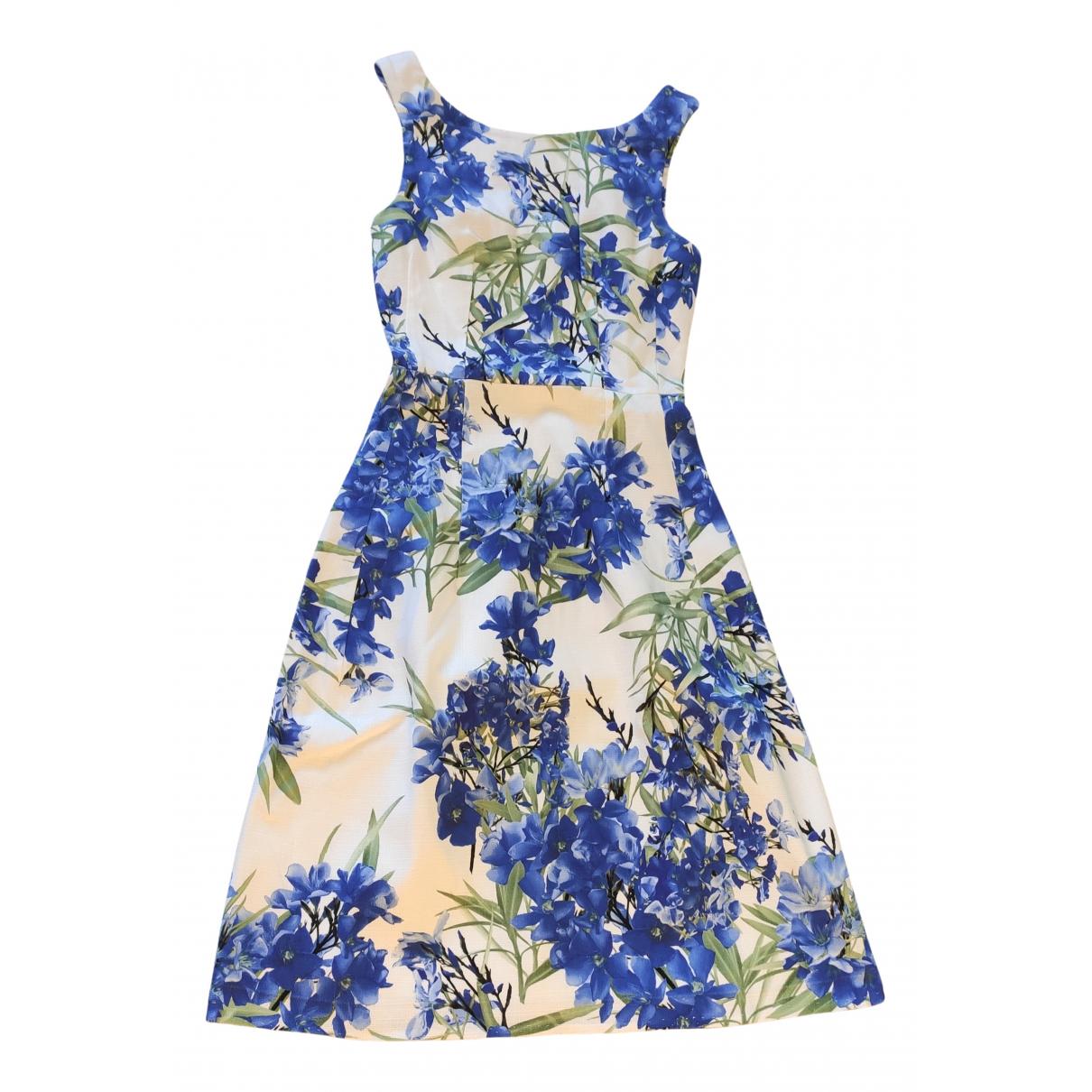 Flavio Castellani N Blue Cotton dress for Women 38 IT