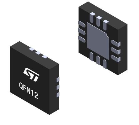 STMicroelectronics TCPP01-M12, Uni-Directional TVS Diode, 12-Pin QFN (3000)