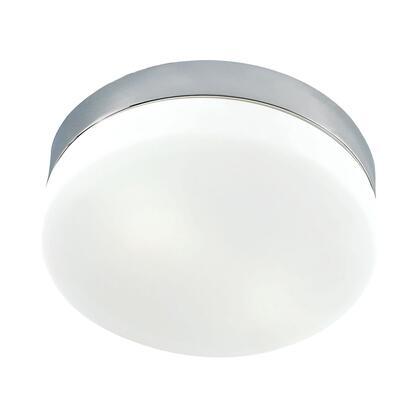 FML1050-10-16M Disc LED Large Flushmount Frosted Glass / Satin