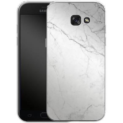 Samsung Galaxy A5 (2017) Silikon Handyhuelle - White Marble von caseable Designs