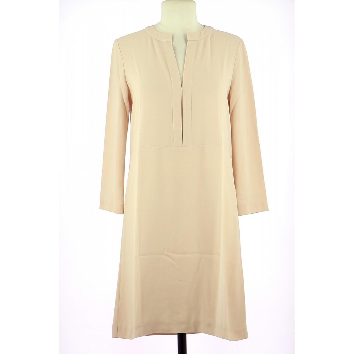Tara Jarmon - Robe   pour femme en soie - rose