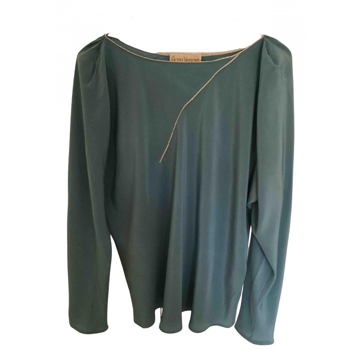 Camisa de Seda Gianni Versace