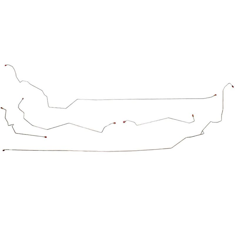 Fine Lines AIN0003SS Intermediate Brake Line For 99-05 Buick Century with ABS and Traction Control Stainless