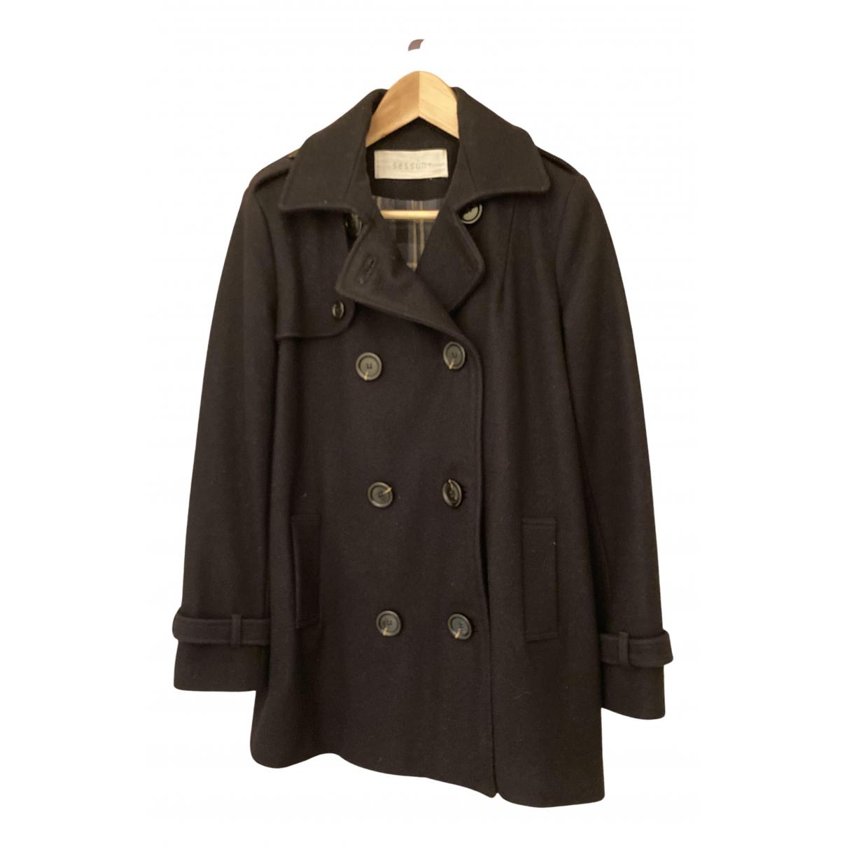 Sessun N Wool coat for Women 8 UK