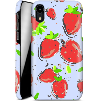 Apple iPhone XR Smartphone Huelle - Strawberry Crush von Mukta Lata Barua